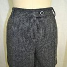 SEE BY CHLOE GRAY TWEED SHORTS SIZE 8 RETAIL $240