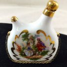 """LIMOGE SMALL PAINTED FLASK WITH STOPPER 3"""""""