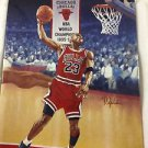"""Limited Edition 91-92 Michael Jordan D Upper Deck No Stoppin This"""" Plate"""