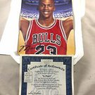 "1996 Upper Deck Limited Edition Michael Jordan Chicago Bulls ""In Flight"" Plate"