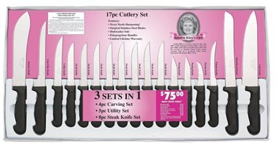 17 pc. Cutlery Set -Free Shipping