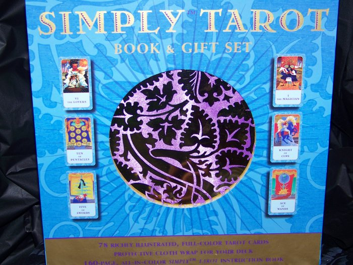 Simply Tarot Book and deck boxed gift set