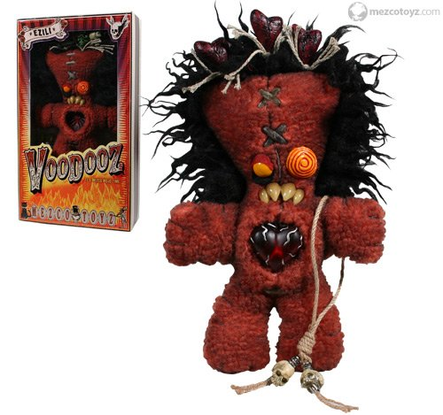 SALE! VooDooz plush doll EZILI series 1 with Voodoo kit Accessories by Mezco SLASHED 60%