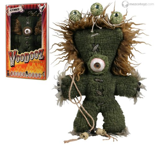 SALE! VooDooz plush doll KENNIS series 1 with Voodoo kit Accessories by Mezco SLASHED 60%