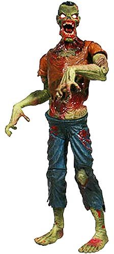 SLASHED 40% Attack of the Living Dead Series 1 Subject Jake Color Strain Phase II Mez Zombie figure