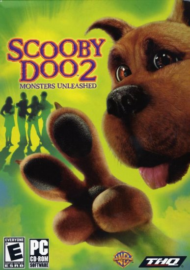 Scooby Doo 2  Monsters Unleashed PC CD-Rom Computer Game