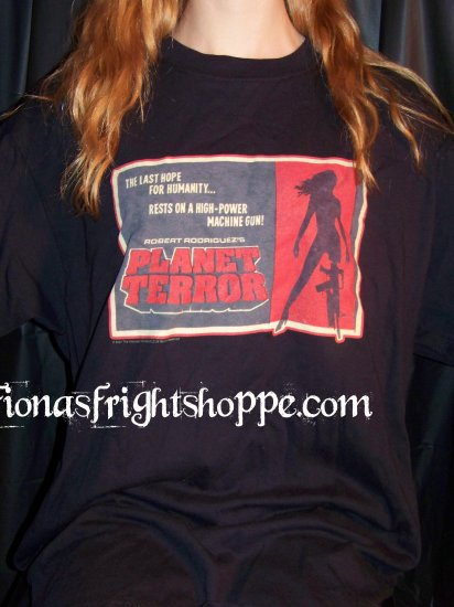 Planet Terror GrindHouse Tee Shirt Size XL