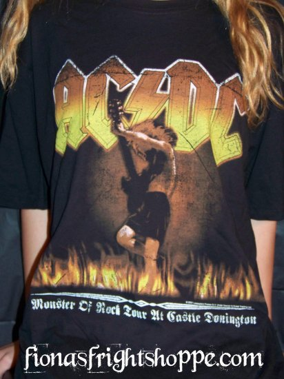 AC/DC Monster of Rock Tour Tee Shirt Large