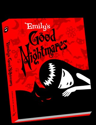 Emily The Strange  Emily's Good Nightmares Book
