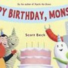Happy Birthday, Monsters Scott Beck Book
