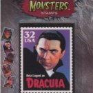 Dracula Bela Lugosi Postage Stamp Magnet