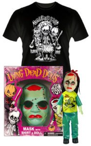 Living Dead Dolls Halloween Retro Set Gabriella the Ghoul