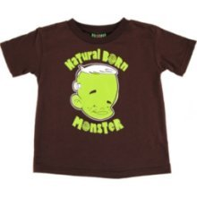 Natural Born Monster TOO FAST BRAND 2T T shirt