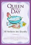 Queen For a Day Mother's Fun Pack Kit - Book Tiara Decree and more!