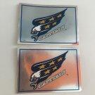 2 Washington Capitals 1995/96 PANINI Team Logo Foil Hockey Sticker Cards # 142