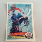 1995/96 Patrick Roy Montreal Canadiens PANINI Hockey Sticker Card # 46