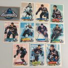 All 11 New York Islanders TEAM SET 1995/96 Panini Hockey Sticker Cards