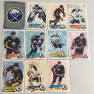 All 11 Buffalo Sabres TEAM SET 1995/96 Panini Hockey Sticker Cards - HASEK