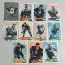 All 11 Anaheim Mighty Ducks TEAM SET 1995/96 Panini Hockey Sticker Cards KARIYA