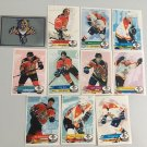 All 11 Florida Panthers TEAM SET 1995/96 Panini Hockey Sticker Cards