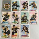 All 11 Boston Bruins TEAM SET 1995/96 Panini Hockey Sticker Cards - RAY BOURQUE