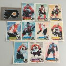 All 11 Philadelphia Flyers TEAM SET 1995/96 Panini Hockey Sticker Cards LINDROS