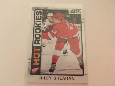 Riley Sheahan 2012/13 Detroit Red Wings Score Panini Rookie RC Hockey Card #538