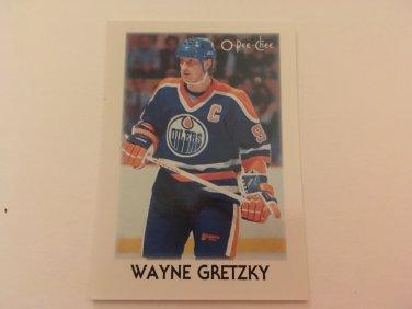 Wayne Gretzky 1987/88 O-Pee-Chee Mini Edmonton Oilers Hockey Card #13