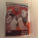 Carey Price 2013/14 Montreal Canadiens Panini Foil Hockey Sticker Card #83