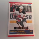 Mattias Tedenby 2011/12 Score Rookie and Traded Rookie RC New Jersey Devils Hockey Card #613