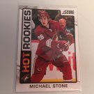 Michael Stone 2012/13 Panini Score  Pheonix Coyotes HOT Rookie RC Hockey Card #512