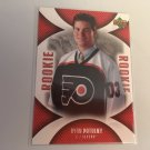 Ryan Potulny 2006/07 Upperdeck Mini Jersey Phildelphia Flyers Rookie RC Hockey Card #120