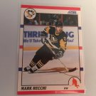 Mark Recchi 1990/91 Score Pittsburgh Penguins Rookie RC Hockey Card # 186