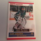 Alex Stalock 2011/12 Score Rookie and Traded Rookie RC San Jose Sharks Hockey Card #625