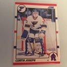 Curtis Joseph 1990/91 Score St Louis Blues Rookie RC Hockey Card # 151