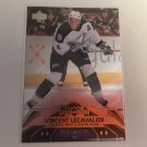 Vincent Lecavalier 2007/08 Black Diamond Tampa Bay Lightning Quad Diamond INSERT Hockey Card # 186