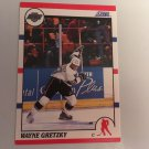 Wayne Gretzky 1990/91 Score Los Angelas Kings Hockey Card # 1