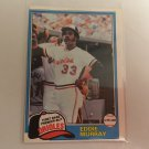 Eddie Murray 1981 O-Pee-Chee Baltimore Orioles Baseball Card # 39
