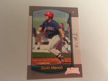 Kevin Mench 2000 Bowman Texas Rangers Rookie RC Baseball Card # 175