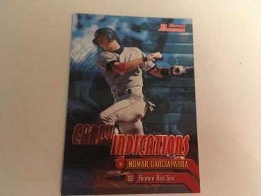 Nomar Garciaparra 2000 Bowman Boston Red Sox Earlyt Indicators INSERT Baseball Card # E1