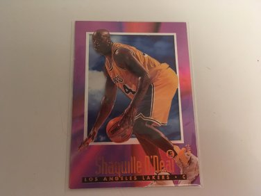 Shaquille O'Neal 1996/97 Skybox LA Lakers  INSERT Basketball Card # 32