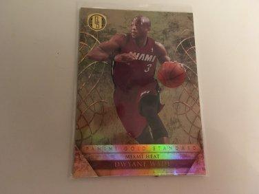 Dwyane Wade 2010/11 Miami Heat Gold Mining INSERT Basketball Card # 50 Serial #'d /299