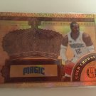 Dwight Howard 2010/11 Orlando Magic Gold Crowns INSERT Basketball Card # 2 Serial #'d /299