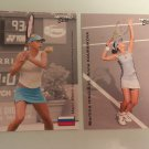 Anna Kournikova, Martina Hingis 2003 NetPro Elite Woman's Rookie RC Tennis Cards