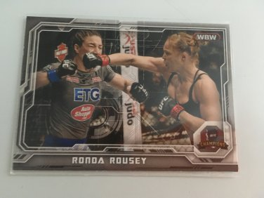 Ronda Rousey 2014 Topps Woman's MMA UFC Card #76