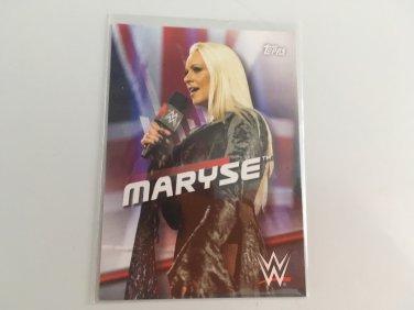 Maryse 2016 Topps Woman's Diva Revolution WWE Wrestling Card #26