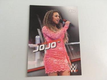 JOJO 2016 Topps Woman's Diva Revolution WWE Wrestling Card #24
