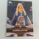 Charlotte 2016 Topps Woman's Diva Revolution WWE Wrestling Card #10