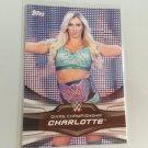 Charlotte 2016 Topps Woman's Diva Revolution WWE Wrestling Card #7