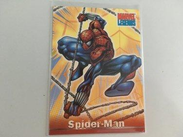Spider-Man 2001 Marvel Legends Comics Costume Change INSERT Card #CC2